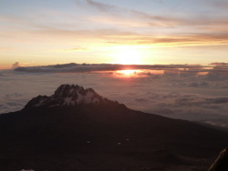 Sunrise over Mt. Kilimanjaro