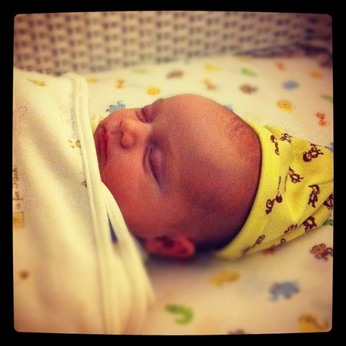 Sleeping babe #sleep  (Taken with instagram)