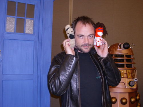 "Doctor Who Convention Line-Up Extended: Mark Sheppard, Ian McNeice, Raquel Cassidy  Mark Sheppard and five others have been added to the line-up of Doctor Who Convention, BBC Worldwide announced today. The actor, who played the role of Agent Canton Delaware III in the opening episodes of Doctor Who's sixth series, has appeared in a number of perennial science fiction shows, including ""Firefly"" and ""Supernatural"".The other additions are as follows: Nick Briggs, voice of the Daleks; Neil Gorton, a visual effects specialist from MillenniumFX; Ian McNeice, who portrayed Winston Churchill; and Raquel Cassidy, who played Cleaves in The Almost People and The Rebel Flesh. They join a list of appearances already including Matt Smith, Steven Moffat, and Arthur Darvill.""I grew up watching Doctor Who, and the fans are a huge part of what really makes the show so very special,"" Sheppard is quoted as saying. ""I can't wait to come back to Cardiff for this unprecedented behind-the-scenes event - a unique chance for fans to meet the amazing people responsible for so much of the show we all love and get to experience their talent and creativity in a totally new way.""  via zcint"