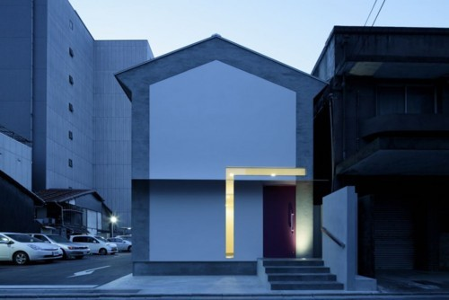 simplypi:  'Keyhole House' (Kyoto, Japan) by EASTERN Design Office