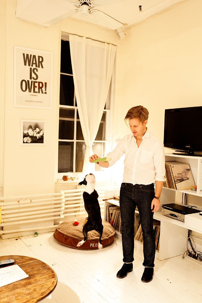 Sam Halmos, of Shipley & Halmos, at home.