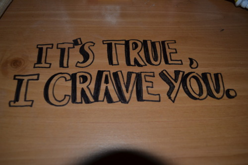 lovequotesrus:  Photo Courtesy: fagging      I crave u!:)