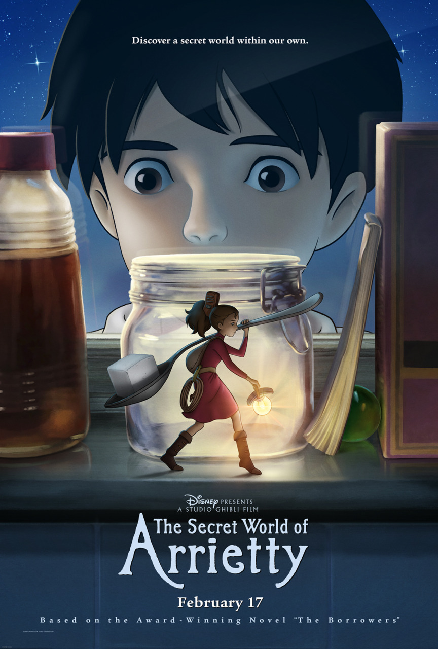 The Secret World of Arrietty - so excited to finally see it in theaters!
