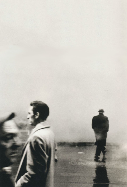 Steve Schapiro, Three Men, New York, 1961