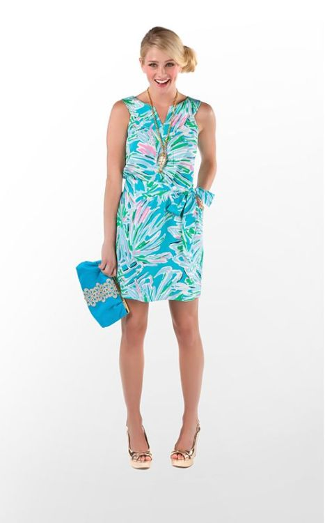 Be most gorgeous gal at the grocery in this great Guiliana Dress from Lilly's Resort 2012