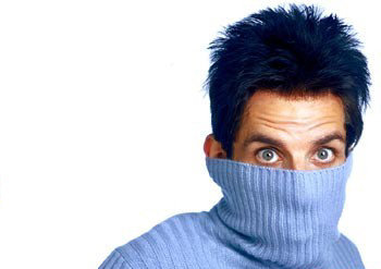 Zoolander goes Blue Block as part of the 99%