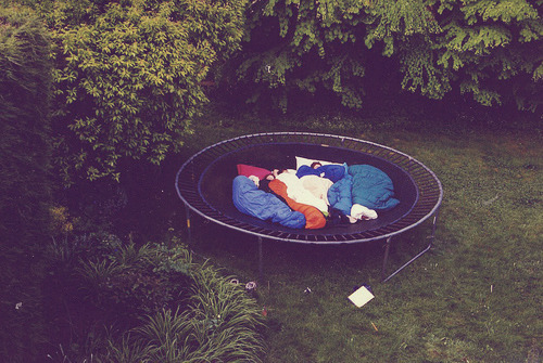yepitsdelaney:  still have yet to do this on my trampoline