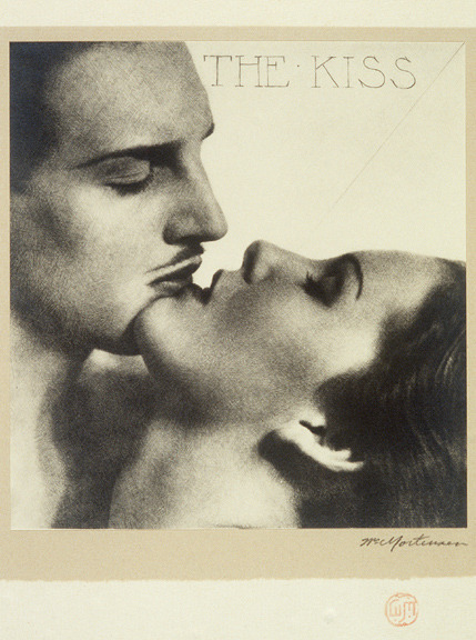 The Kiss ~ William Mortensen, American (1897-1965). via