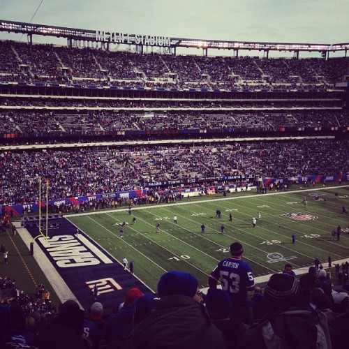 Protect this house #ALLIN (Taken with Instagram at New Meadowlands Stadium)