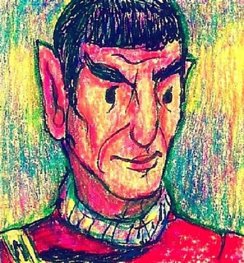 (via Captain Spock by ~KhanLovr75 on deviantART)