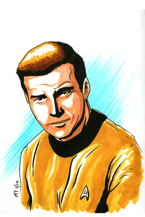 (via Captain James T. Kirk by ~Krayola-Kidd on deviantART)