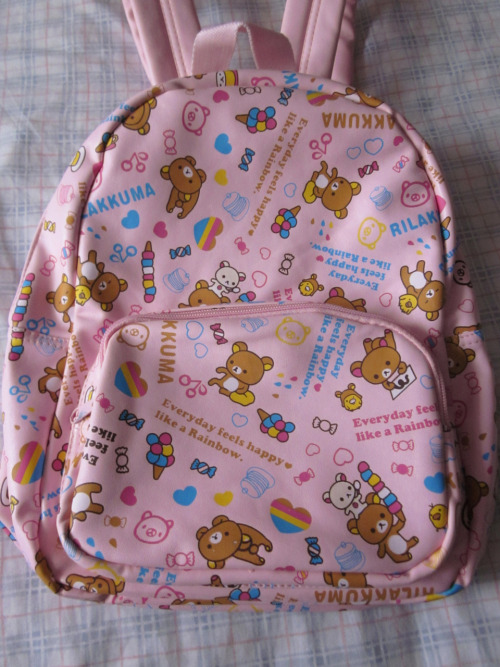 I love cute backpacks! This was my pre-Christmas treat to myself :D