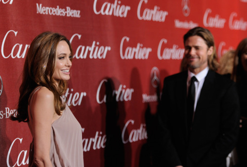Angelina Jolie & Brad Pitt @ 23rd Annual Palm Springs Int. Film Festival Awards Gala in Palm Springs, CA - January 7, 2012.