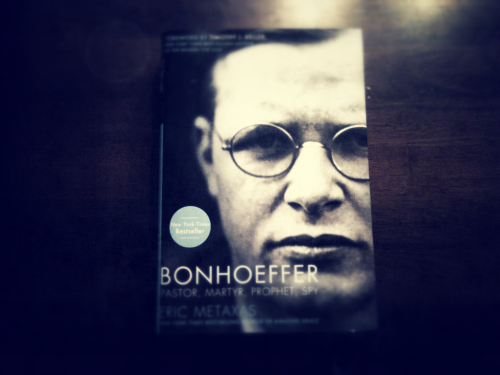 Reading this today. Bonhoeffer is such a boss. If you haven't read The Cost of Discipleship, you should. All about what it means to be a disciple of Christ and the difference between cheap grace and costly grace. So good.