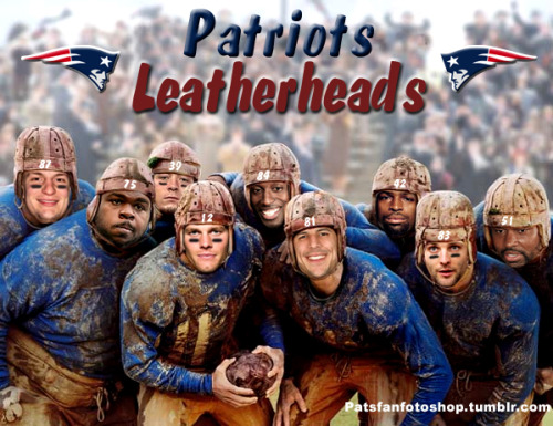 Patriots Old School!