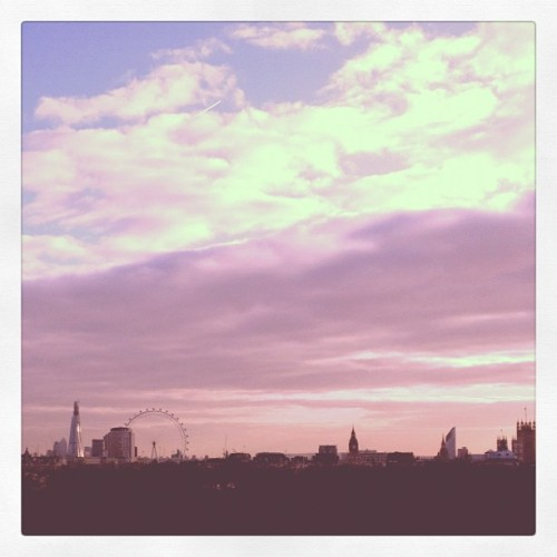 Good morning London (Taken with instagram)