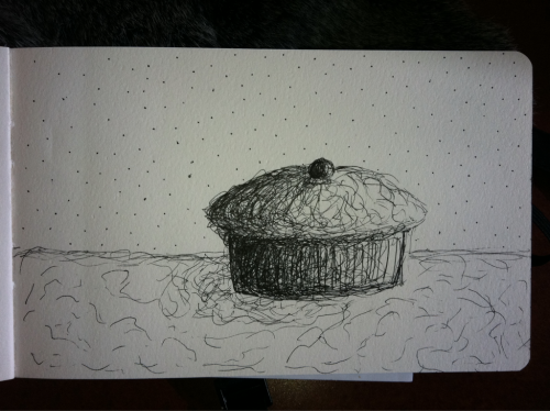 11:00 am - 11:15 am Space cupcake (wish I could crop ye)