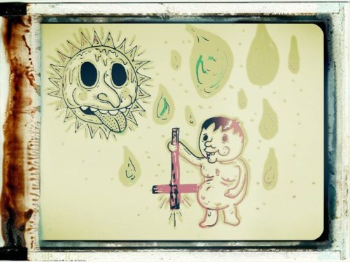 'Fun in the Sun' - mixed media by Greatorex.
