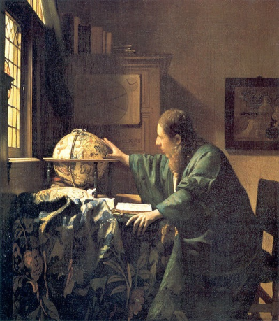 The Astronomer by Johannes Vermeer (c. 1668)