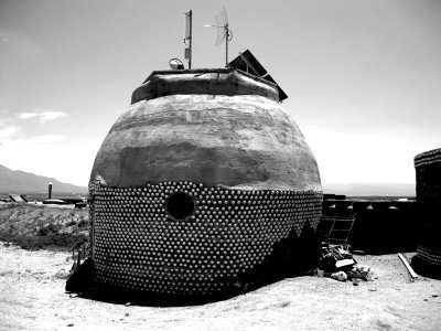 Earth Ship Bio Structure, Taos New Mexico