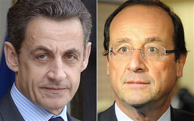 France: Nicolas Sarkozy closes gap on rival Francois Hollande Nicolas Sarkozy, the French president, has closed the gap in voting intentions on his opposition Socialist rival Francois Hollande, just four months before they face off in an election, according to the first poll of the year. The poll by the Ifop institute for the Journal du Dimanche newspaper forecast Mr Hollande would beat Mr Sarkozy 54 to 46 per cent in a head-to-head run-off - the closest margin between the two favourites in many months and two points closer than in the last Ifop poll in December. Mr Sarkozy's supporters have begun privately boasting that the momentum in the race now favours the president, who has been slowly building support while his once dominant rival's campaign got off to a lacklustre start. The president is not expected to officially declare his intention to run for a second five-year term until March, but no one doubts he will and his weekly agenda has long resembled a campaign programme. Mr Hollande, a former Socialist leader who has never held ministerial office, enjoyed strong public support during his party's primary season last year, but has made a slow start to the campaign proper. (via Telegraph)