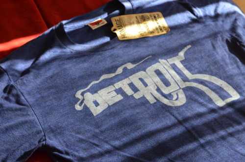 detroit t-shirt by homage