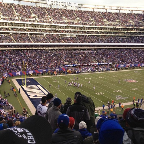 OUR HOUSE! #ALLIN (Taken with Instagram at New Meadowlands Stadium)