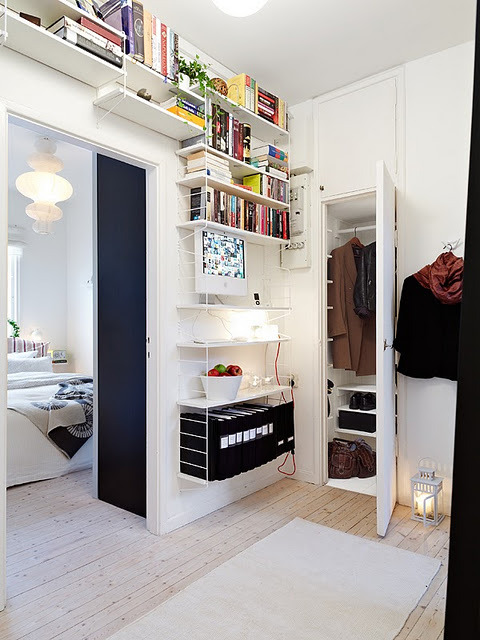myidealhome:  clever use of space (via La maison d'Anna G.: 2 pièces à Göteborg)
