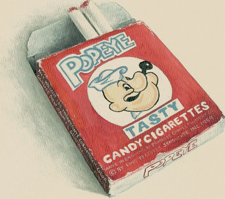 """Smoking"" these and thinking you were super cool!"