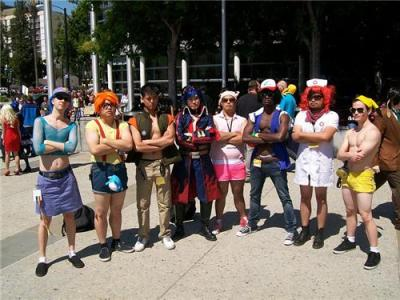 Pokemon and men. The internet has everything I love!