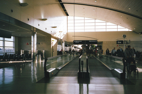 watercolorcanvas:  pavor:  (by nostalgists)  i love airports because they mean you're getting away. You're going someplace new.