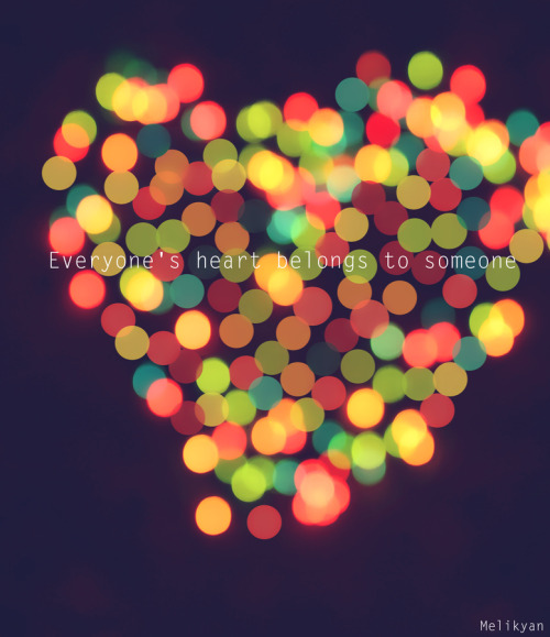 """*Bokeh Heart"" by Edward MelikyanEveryone's heart belongs to someone"