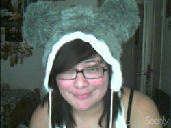the new item to my hat collection :D