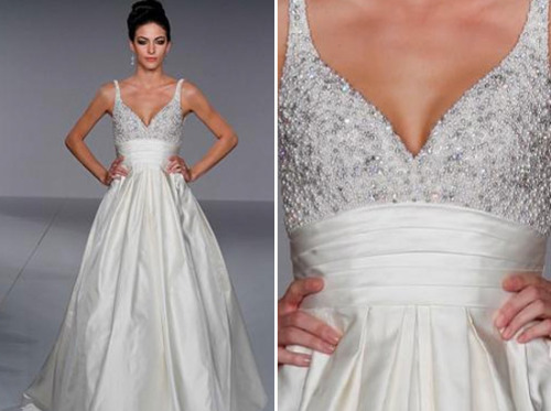 Priscilla of Boston has created some of the most breathtaking wedding gowns for over 60 years.  It is sad that they have closed their doors but we still have pictures to remind us of their amazing wedding gowns and bridesmaids dresses. Good-bye Priscilla of Boston!