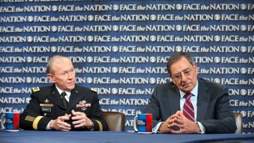 cultureofresistance:    Panetta: Iran Not Building a Nuclear Weapon     Secretary of Defense Leon Panetta appears on CBS' Face the Nation this morning and declared, despite enormous public rhetoric among pundits and many US government officials - not to mention GOP presidential candidates, that Iran is not currently trying to build a nuclear weapon. >continue<