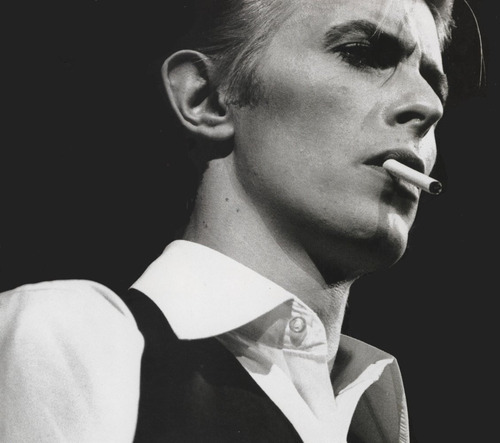 aquariumdrunkard:   The Thin White Duke Turned 65 Today…   We're going out tonight in honor of this man's bday… to see a tribute band… that one of our best friends has created… because David Bowie is that cool.