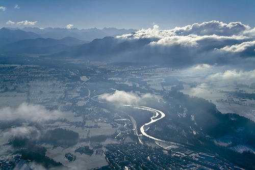 refero-mundus:  River Isar (by Aerial Photography)