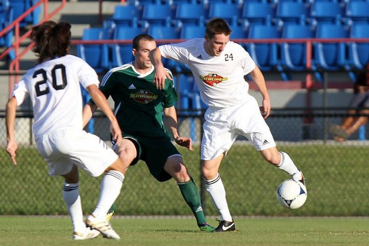 Creighton's Ethan Finley left an impression on his first day at the 2012 MLS Combine. Photo by Andy Mead/MLSsoccer.com. ©2012 MLSsoccer.com. All Rights Reserved.
