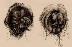 pretty drawing Illustration hair MY EDIT Sketch