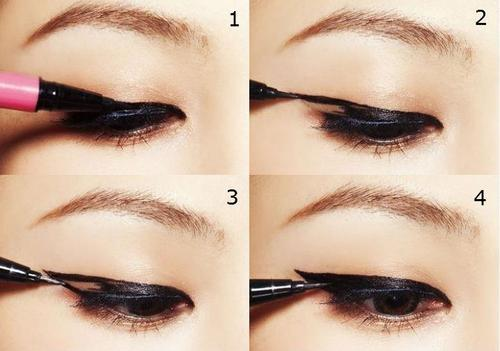 Easy how-to cat eyeliner!