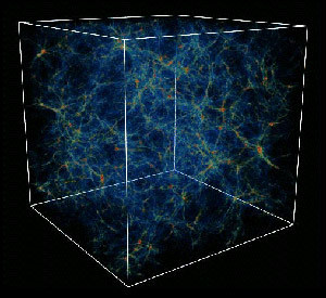future-physicist:  The density of the known universe is estimated at roughly 1 proton per cubic meter. (Image Via)