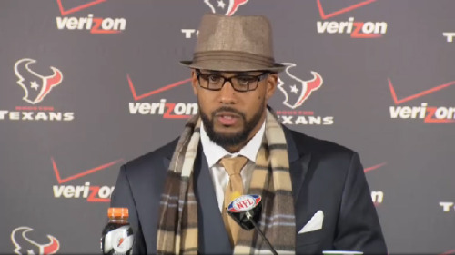 Stylez G. White Arian Foster, Texans postgame press conference.