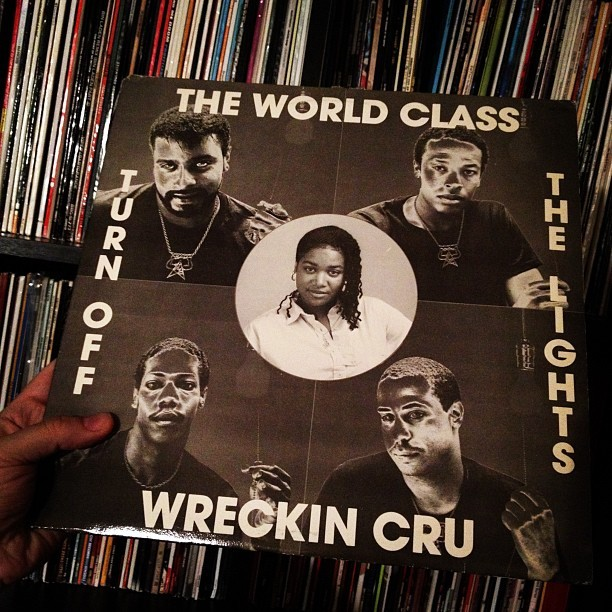 World Class Wreckin Cru #vinyl #vinyligclub #record #12inch #drdre #westcoast (Taken with instagram)