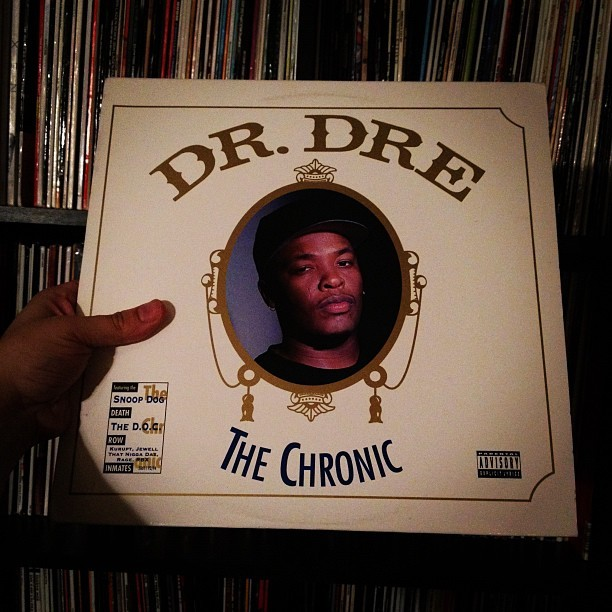 Dr. Dre - The Chronic #westcoast #drdre #record #vinyligclub #vinyl #lp #hiphop (Taken with instagram)