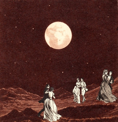 "flannybabes:  thecollectivecollage:  ""Ball"" by Bob May  I think our next ball should be in space. Fo defs.  If GUSCDC's next ball is on the moon, I will for sure prioritise the ball over IVFDF."