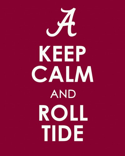 fraterpillar:  Hope the boys and Saban can pull off a win.  I'm taking Bama 9-6
