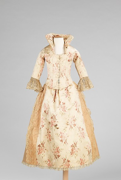 Child's evening dress, Met, ca. 1885