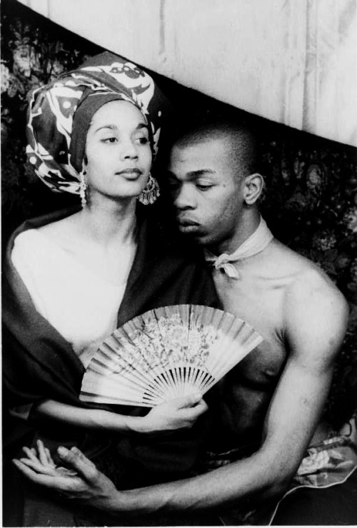 legrandcirque:  Geoffrey Holder and his wife, Carmen de Lavallade. Photograph by Carl Van Vechten, March 1955. Source: Library of Congress