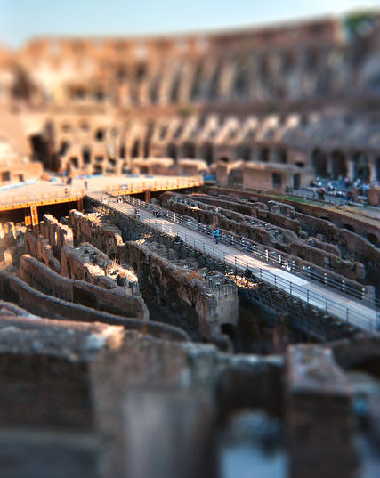 A great selection of tilt and shift photos here, among many other techniques!