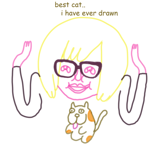 that time pendleton ward the creator of adventure time sketched me and my cat zoe during a stickam chat one sunday